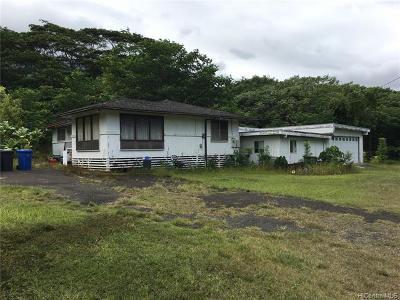 Kaneohe Single Family Home For Sale: 47-555 Mapele Place