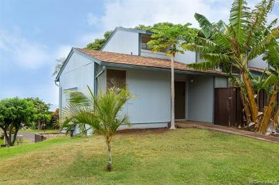 Kapolei Condo/Townhouse For Sale: 92-956 Makakilo Drive #65