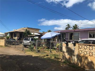 Ewa Beach Single Family Home For Sale: 91-525 Hapalua Street