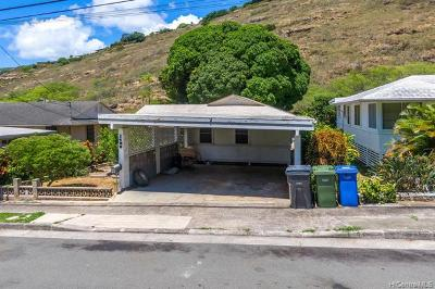 Honolulu Single Family Home For Sale: 1498 Ainakoa Avenue