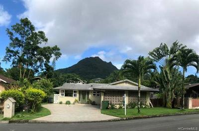 MAUNAWILI Single Family Home For Sale: 1254 Puualoha Street