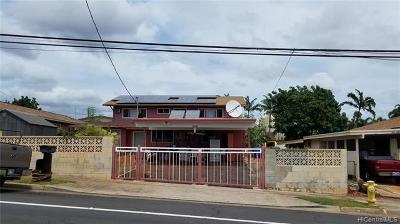 Waipahu Single Family Home For Sale: 94-485 Honowai Street