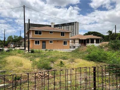 Honolulu Residential Lots & Land For Sale: 2141 N School Street
