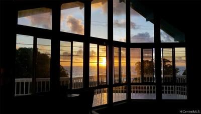Kaaawa Single Family Home For Sale: 51-138 Kamehameha Highway