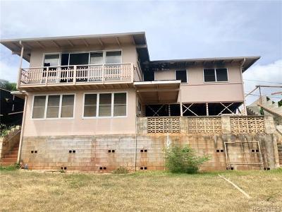 Single Family Home For Sale: 99-621 Iwaiwa Street