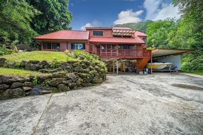 Kaneohe Single Family Home For Sale: 47-760 Ahuimanu Loop