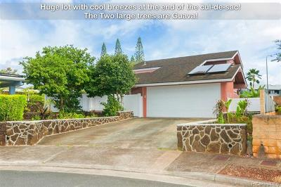 Mililani Single Family Home For Sale: 94-072 Kaweloalii Place
