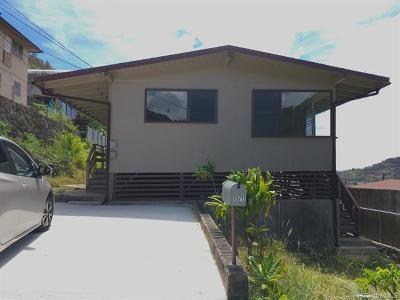 Honolulu Single Family Home For Sale: 1577 Merkle Street