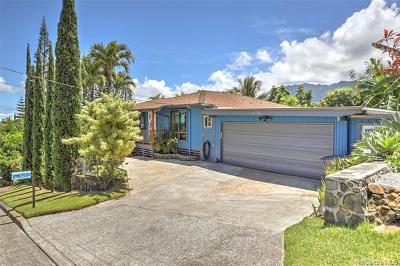 Kaneohe Single Family Home For Sale: 47-106 Kaimalolo Place
