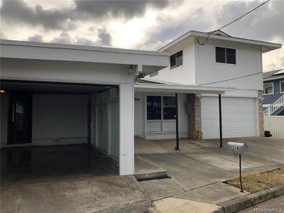 Kailua Single Family Home For Sale: 1254 Nanawale Way