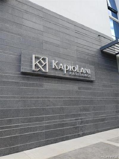 Honolulu County Condo/Townhouse For Sale: 1631 Kapiolani Boulevard #1706