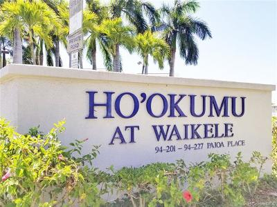 WAIKELE Condo/Townhouse For Sale: 94-217 Paioa Place #G 101