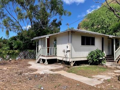 Honolulu County Single Family Home For Sale: 84-216 Holt Street