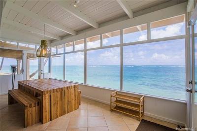 Kaaawa Single Family Home For Sale: 51-355 Kamehameha Highway
