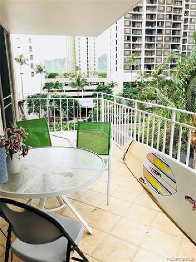 Honolulu Condo/Townhouse For Sale: 225 Liliuokalani Avenue #6D
