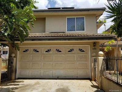 Honolulu County Single Family Home For Sale: 87-116 Maipalaoa Road