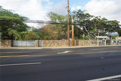 Waianae Residential Lots & Land For Sale: 85-190 Farrington Highway