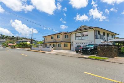 PALOLO Multi Family Home For Sale: 3375 Kaau Street