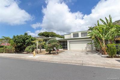 Aina Haina Single Family Home For Sale: 5340 Opihi Street