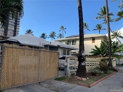 Honolulu Multi Family Home For Sale: 440 Pau Street