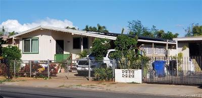 Ewa Beach Single Family Home For Sale: 91-1025 North Road