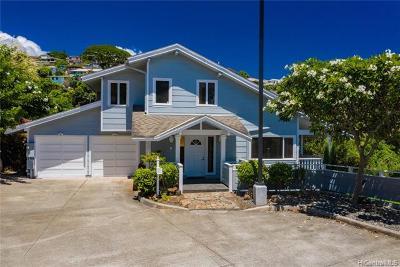 WILHELMINA, Wilhelmina Rise Single Family Home For Sale: 108 Maunalanikai Place