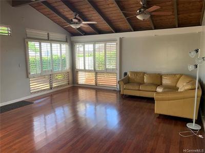 Aiea Single Family Home For Sale: 98-1634 Piki Street