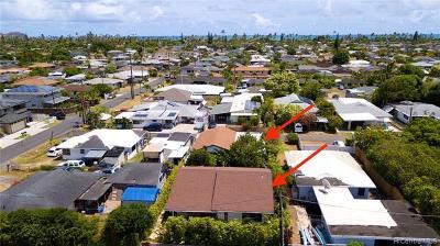 Kailua Single Family Home For Sale: 431a Kalama Street