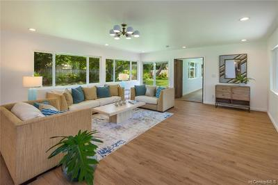 Honolulu Single Family Home For Sale: 205 Portlock Road