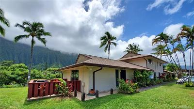 Kaneohe Condo/Townhouse For Sale: 47-418 Hui Iwa Street #1