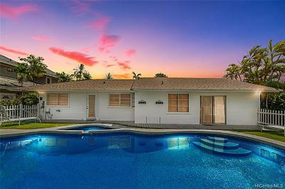Honolulu Single Family Home For Sale: 4817 Aukai Avenue