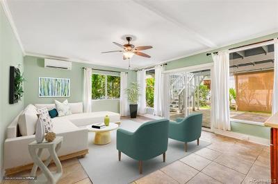 Kaaawa Single Family Home For Sale: 51-016 Hiiaka Road #1