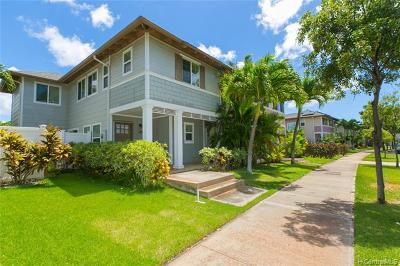 Ewa Beach Single Family Home For Sale: 91-1297 Kaileolea Drive