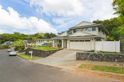 Kailua Single Family Home For Sale: 3021 Kahako Place