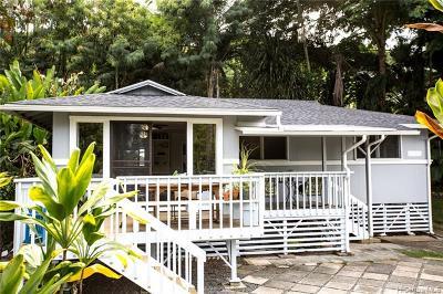 Kaneohe Single Family Home For Sale: 47-377 Kamehameha Highway #B1