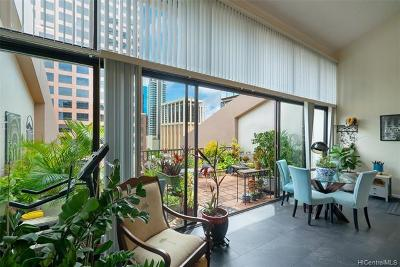 Honolulu County Condo/Townhouse For Sale: 1088 Bishop Street #1214