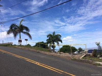 Honolulu Residential Lots & Land For Sale: 1211 Alewa Drive