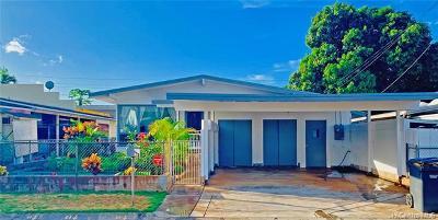 Waipahu Single Family Home For Sale: 94-389 Pupukupa Street