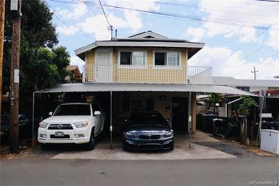 Honolulu Single Family Home For Sale: 2011 Lohilani Street