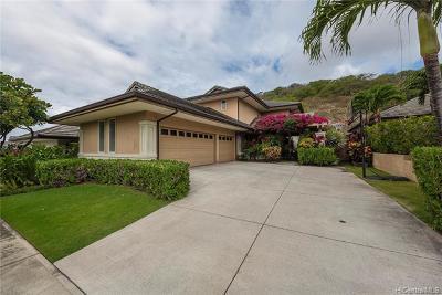 Honolulu Single Family Home For Sale: 1036 Koko Uka Place