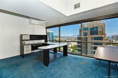 Honolulu Condo/Townhouse For Sale: 1188 Bishop Street #3500A