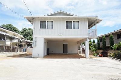 Honolulu Single Family Home For Sale: 1521 Meyers Street