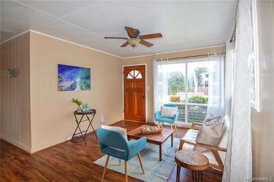 Honolulu County Single Family Home For Sale: 54-269 Kamehameha Highway #E