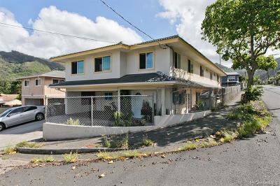 Honolulu Single Family Home For Sale: 1600 Kilohana Street