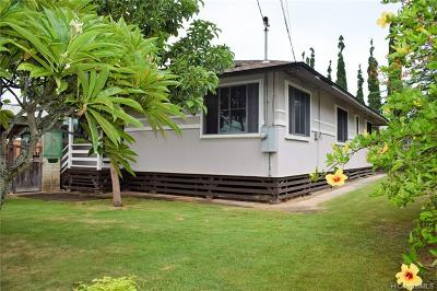 Single Family Home For Sale: 450 Kihapai Street