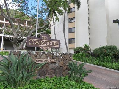 Honolulu Condo/Townhouse For Sale: 555 Hahaione Street #15C