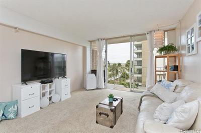 Honolulu Condo/Townhouse For Sale: 2115 Ala Wai Boulevard #803