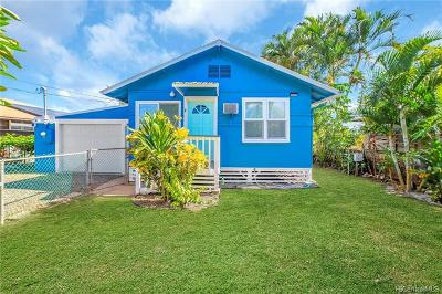 Haleiwa Single Family Home For Sale: 66-080 Wana Place #2