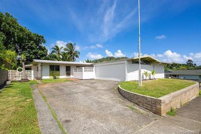 Kailua Single Family Home For Sale: 1013 Maunawili Road