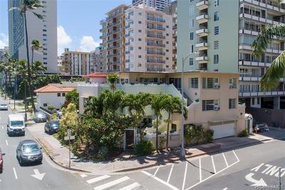 Honolulu Multi Family Home For Sale: 2153 Ala Wai Boulevard